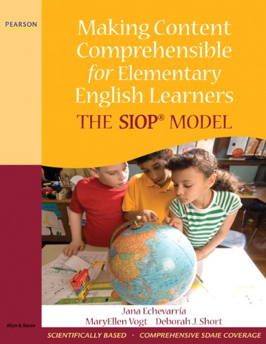 Making Content Comprehensible for Elementary English...