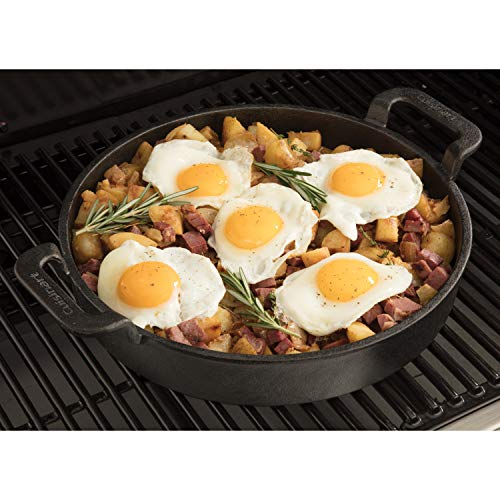 "Cuisinart CCP-1000, Pre-Seasoned Cast Iron Griddle Pan, 10"""