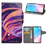 HHDY Compatible with Xiaomi Mi 9 Lite Case,Flip PU Leather