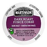 Martinson Single Serve Coffee Capsules, Dark Roast,...