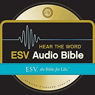 Page de couverture de ESV Hear the Word Audio Bible