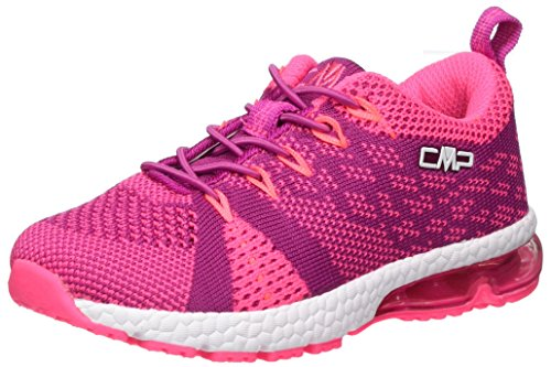 CMP Campagnolo Unisex-Kinder Knit Fitness Fitnessschuhe, Pink (Hot Pink), 30 EU