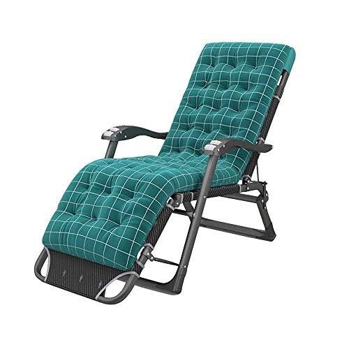 LLSS Klappbarer Gartenstuhl für den Außenbereich Verstellbarer Liegestuhl mit Mehreren Positionen Leichter und tragbarer Massagesessel mit Abnehmbarer Matte und Rückenlehne - 5 Farben