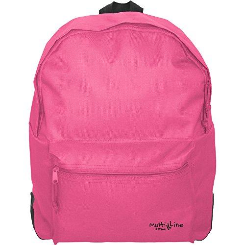 Grafoplás 37500854-Mochila escolar niña y niño Multiline color rosa