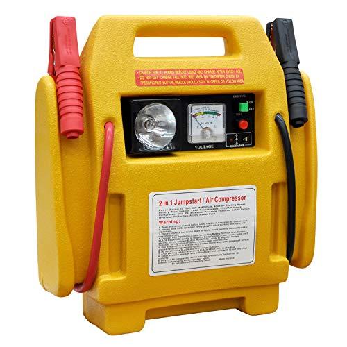 HMSR® 12v Portable Car Jump Starter Auto Battery Charger Air Compressor...