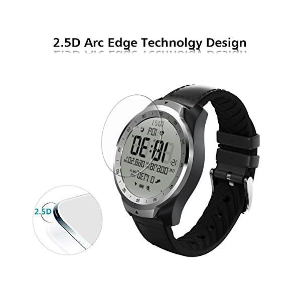 ivoler 4 Unidades Protector de Pantalla para Huawei Watch GT/Huawei Watch GT Active/Huami Amazfit Verge/Amazfit Verge… 3