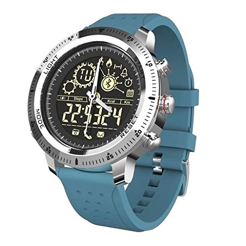Oberlo Fitness Tracking Smart Watch (Blue/United States)