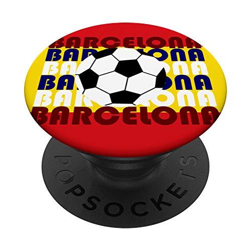 Barcelona España Soccer Versión 4.4: Big Bauhaus Baller PopSockets PopGrip: Agarre intercambiable...