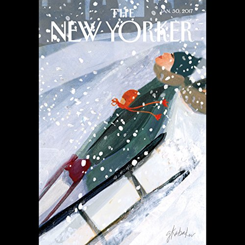 The New Yorker, January 30th 2017 (Evan Osnos, Raffi Khatchadourian, Amy Davidson) cover art