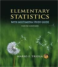 By Mario F. Triola: Elementary Statistics Tenth (10th) Edition