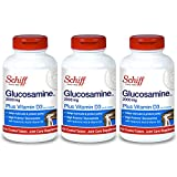 Schiff Glucosamine 2000mg with Vitamin D3 and...