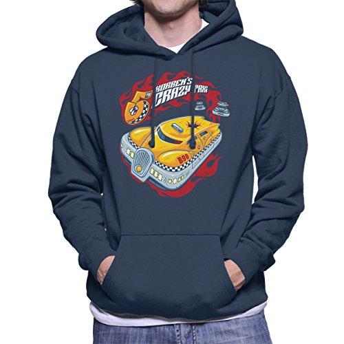 Korbens Crazy Taxi Fifth Element Men's Hooded Sweatshirt