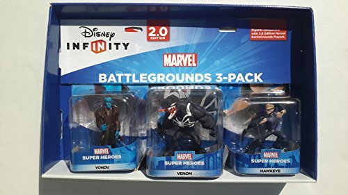 Disney Infinity 2.0 Marvel Battlegrounds (Yondu, Venom & Hawkeye) by Disney Infinity