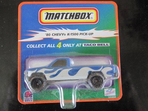Matchbox, Taco Bell, 80 Chevy K-1500 Pick-up Truck by Matchbox