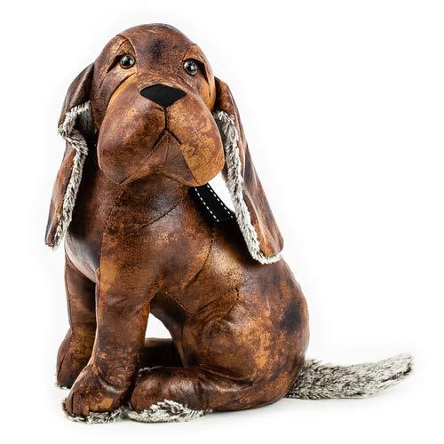 Türstopper Hund Basset, Dekofigur, Türhalter H 36cm