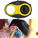 Los niños de la cámara DV 5MP 1,5 Pulgadas de Pantalla Color de la cámara Mini Llavero Tipo Digital de Regalo for los niños (Azul) [ZRX] (Color : Yellow)