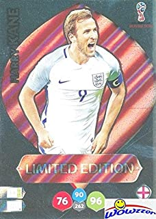Harry Kane England 2018 Panini Adrenalyn XL WORLD CUP RUSSIA EXCLUSIVE LIMITED EDITION Card! Awesome Special Great Looking Card Imported from Europe! Shipped in Ultra Pro Top Loader! WOWZZER!