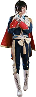 Ensemble Stars Cosplay Costumes Requiem Knight Uniform Outfits with Inner Shirt