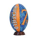 Ruckfield - Ballon de Rugby Seven - Noir