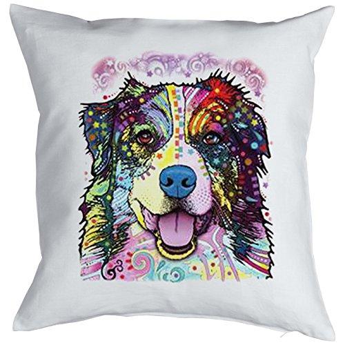 Berger Australien Pillow, oreiller, almohada, Cuscino Pop Art Style