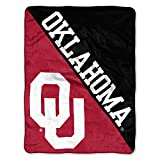 The Northwest Company Oklahoma Sooners 'Halftone' Micro Raschel Throw Blanket, 46' x 60' , Red