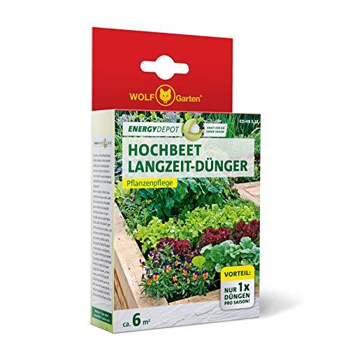 WOLF-Garten - Energy Depot Hochbeet-Langzeitdünger ED-HB 0,32 (für ca. 6 m²/Jahr); 3877003