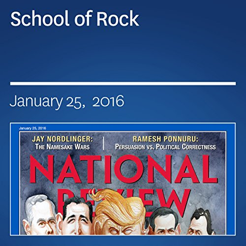 School of Rock audiobook cover art