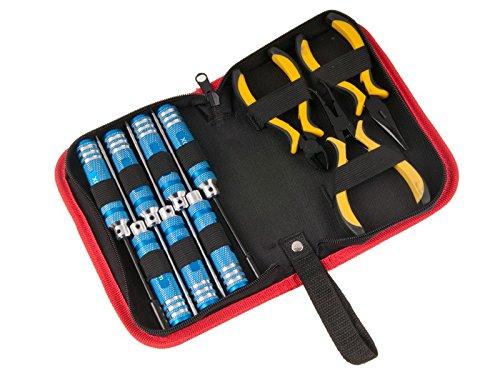 RT - Juego de herramientas con bolsa de transporte (10 piezas)