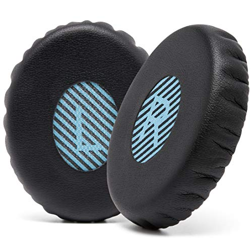 WC Wicked Cushions Replacement Ear Pads for Bose On-Ear 2 (OE2 & OE2i) Headphones - Earpads for Bose SoundTrue & SoundLink On-Ear (OE) Headphones - Softer Leather, Luxury Memory Foam, Added Thickness