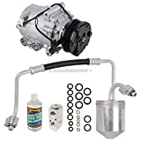 Saturn Vue A/C Compressors & Components - For Saturn Vue 2004 AC Compressor w/A/C Repair Kit - BuyAutoParts 60-80361RK New