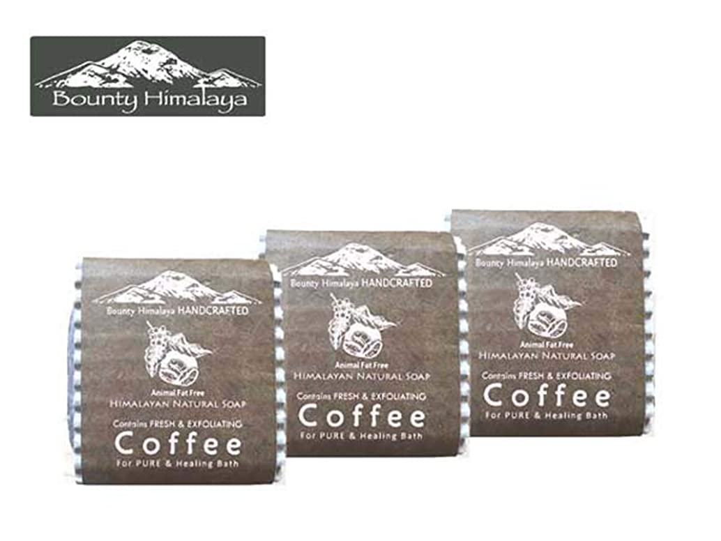 糸ノーブルブランドアーユルヴェーダ ヒマラヤ コーヒー ソープ3セット Bounty Himalaya Coffee SOAP(NEPAL AYURVEDA) 100g
