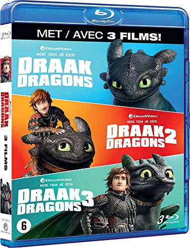 Dragon-Coffret Integrale 3 Films [Blu-Ray]