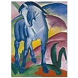 JUNIWORDS Poster, Franz Moritz Wilhelm Marc, Blaues Pferd
