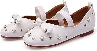 [テンカ] フォーマル靴 女の子 ベビーシューズ キッズ 7歳~16歳 ドレスシューズ 子ども靴 ガールズ 無地 七五三 発表会 結婚式 入園式 入学式 卒業式 歩きやすい 軽量 かわいい カジュアル パンプス お祝い