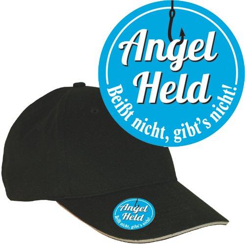 AV Andrea Verlag Base Caps (Angel Held 32888) mit Metall Flaschenöffner und 3D Etikett Doming