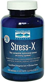 Trace Minerals Research - Stress-X, 120 tablets