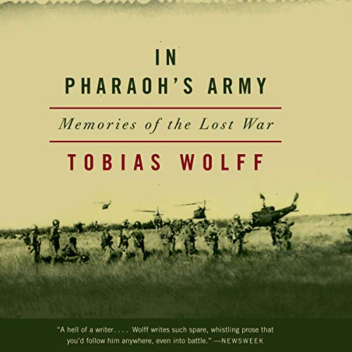 In Pharaoh's Army audiobook cover art