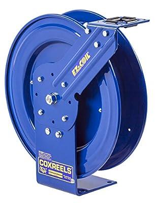 "Coxreels EZ-P-LPL-35 Safety Series Spring Rewind Hose Reel: 3/8"" I.D., 5' hose capacity, less hose, 3 PSI"