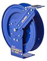 Coxreels EZ-P-LPL-125 Safety Series Spring Rewind Hose Reel for air/water: 1/4 I.D., 25' hose, 300 PSI, less hose by Coxreels