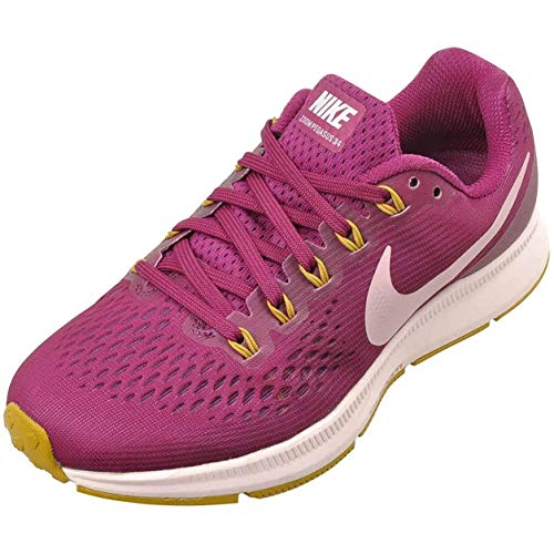 Nike Women's Air Zoom Pegasus 35 Running Shoes (True Berry Plum Chalk 607, Numeric_5_Point_5)