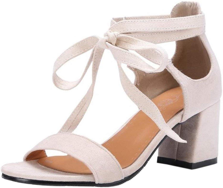 Unm Women Summer Lace up Sandals