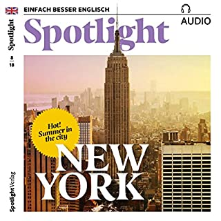 Spotlight Audio - Summer in New York. 8/2018 Titelbild