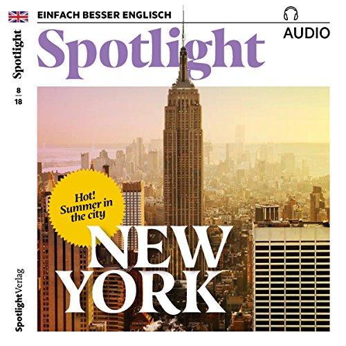 Spotlight Audio - Summer in New York. 8/2018 Titelbild