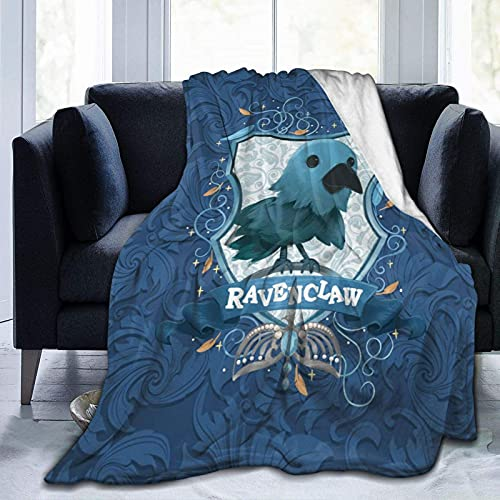 Magic Academy Illustration Series, manta para niños, manta de franela suave, impresión de dibujos animados, súper suave, cálida para siestas, sillones, sala de estar, 150 x 100 cm