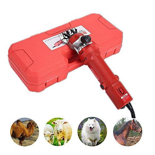 Zed Haardeuse met paarden, verstelbare elektrische paardenschaar, hoge prestatie tondeuse voor honden/runder/eisel/alpacas/lamas en andere dieren