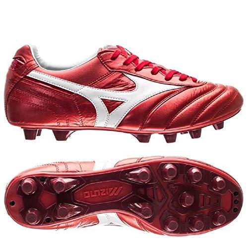 Mizuno Morelia II Made in Japan – Profi-Fußballschuhe – Rot, Rot - rot - Größe: 44.5 EU