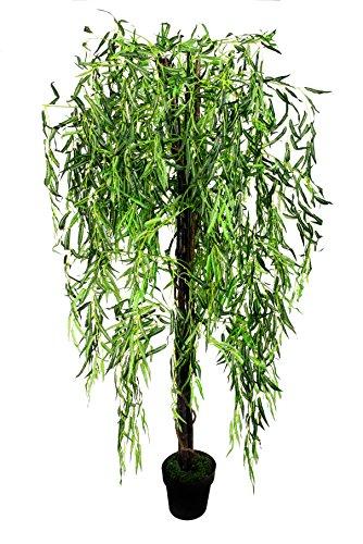 McPalms Weide 1,80 m Kunstbaum künstlicher Weidenbaum