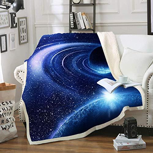 Blanket Direct Super Soft Twin/Full Size Galaxy Plush Fleece, 60' x 80'...