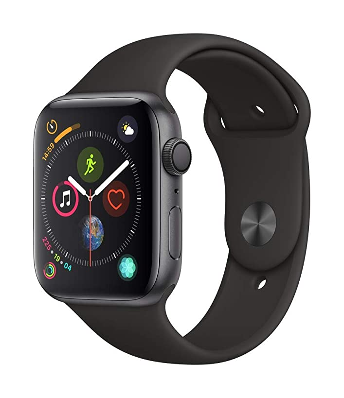 Apple?Watch Series?4 (GPS, 44mm) - Space Gray Aluminium Case with Black Sport Band