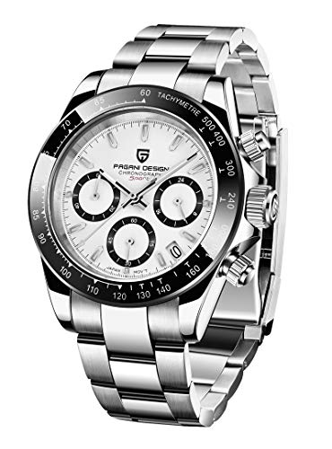 Pagani Design Japanese Movement Multi-Function Chronograph, Stainless Steel Fashion Business Casual Men's...